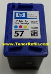 HP #57 Tri Color Ink Cartridge C6657AN