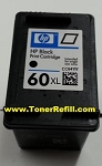 HP #60XL Black Ink Cartridge CC641wn